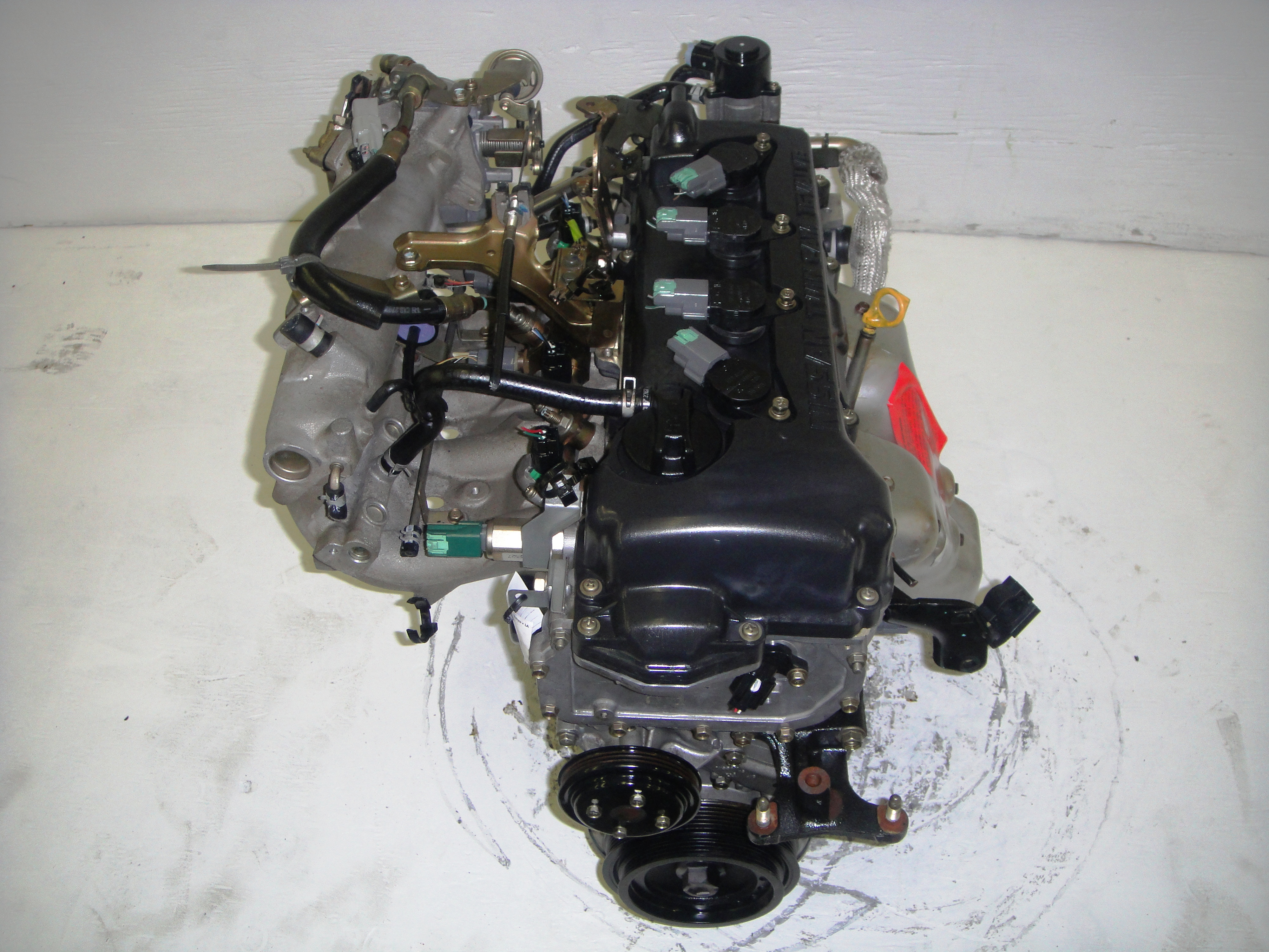 2002 Nissan Sentra Engine