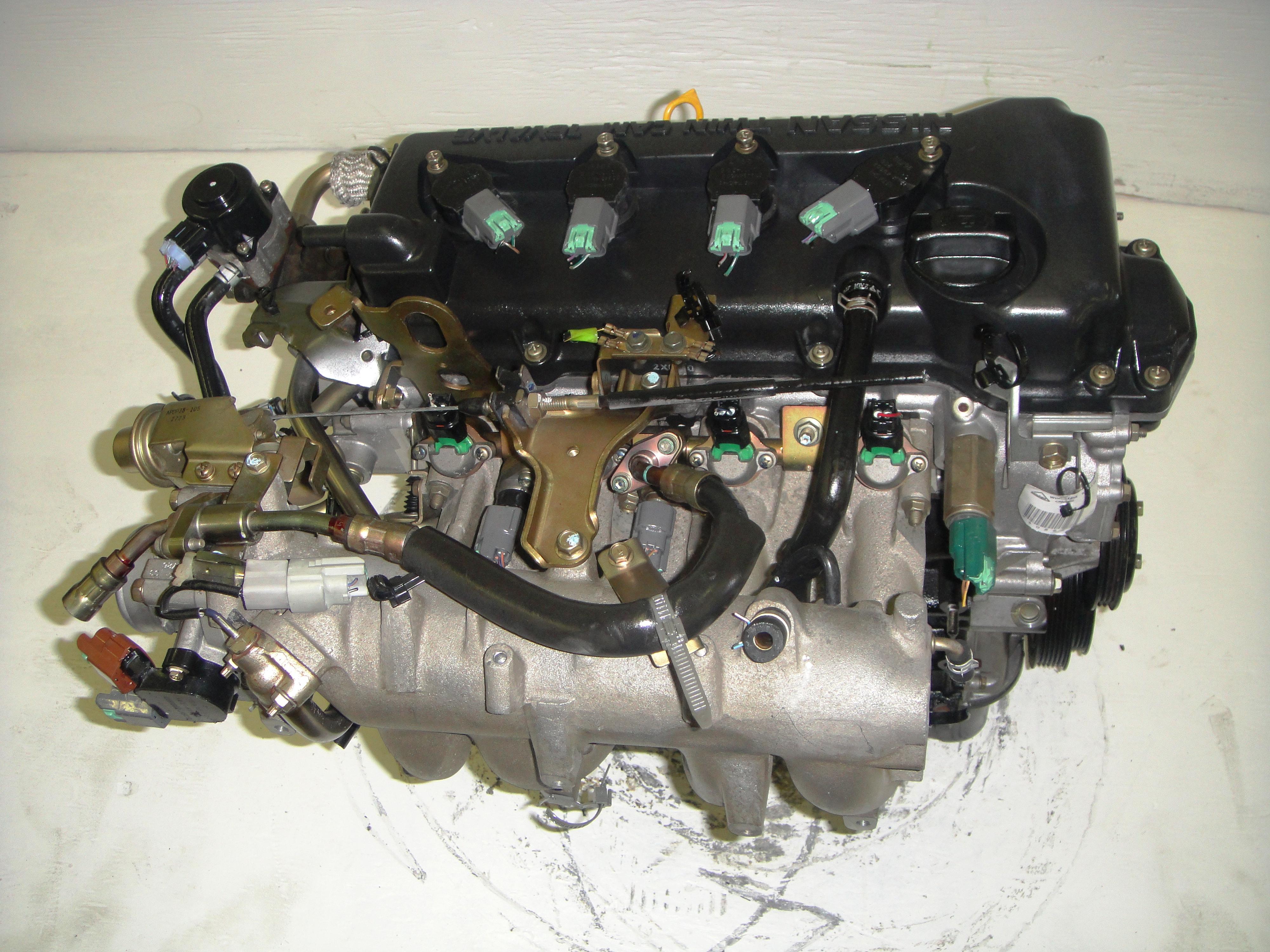 2002 Nissan Sentra Engine